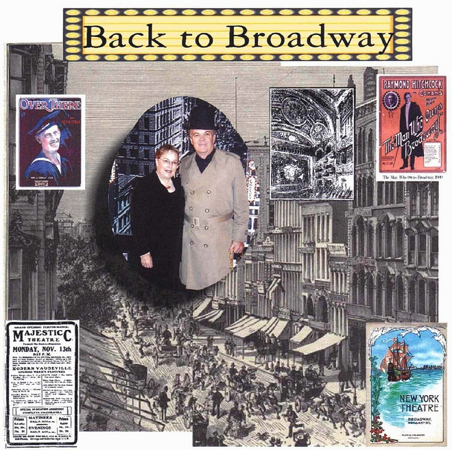 Turn back the clock with Fred and Sharon Moore to Broadway music performed to standing room only crowds before 1921. Relive the great musical theatre of Gilbert and Sullivan, George M. Cohan and Irving Berlin, and many more. It's a trip to the theatre of yesterday with lots of music and lots of laughs. With Fred as George M. Cohan (He doesn't tap dance) and Sharon at the keyboard (She doesn't dance either) you'll be tappinYOUR toes and singing along with the tunes it seems you haven't heard . . . forever! Program Length: 60 minutes