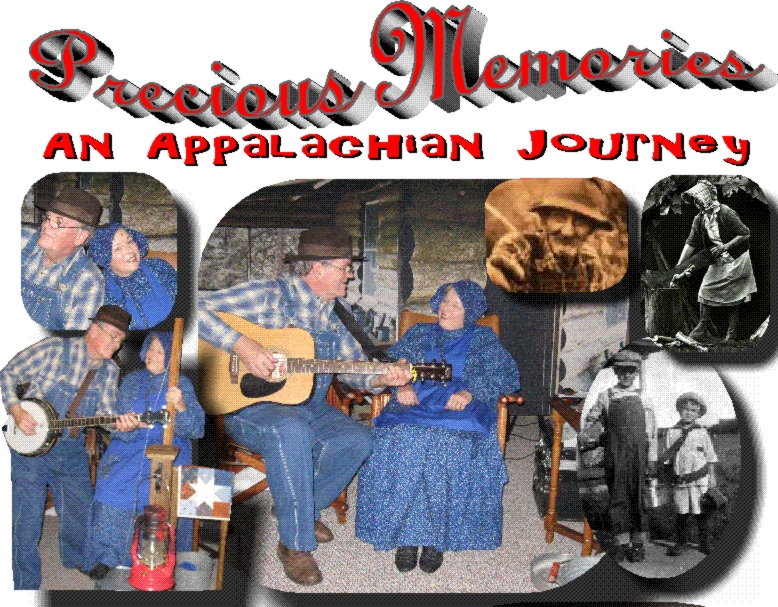 "PRECIOUS MEMORIES is an original Programs Unlimited production with Fred and Sharon Moore. It features the music, history and humor of the Appalachians. It is tender and touching, fascinating and funny, inspiring and informative. It's ""front porch"" singin' and sharin' and it will engage your heart. Program Length: 65 minutes"